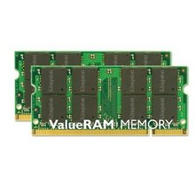 Kingston Value 1GB DDR2 800 SO-DIMM CL 6 - KVR800D2S6/1G
