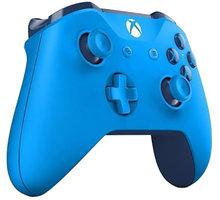 Microsoft Xbox ONE Gamepad, bezdrátový, modrý (Xbox ONE) - WL3-00020