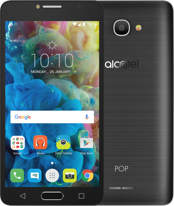 ALCATEL OT-5095K POP 4s, šedá