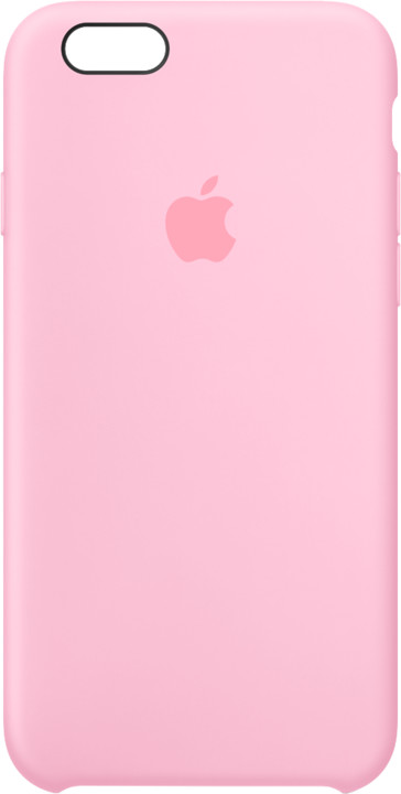Apple iPhone 6s Silicone Case - Light Pink