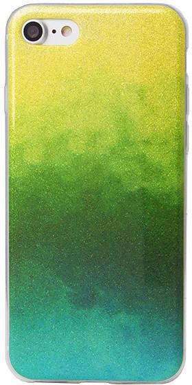 EPICO pouzdro pro iPhone 7/8 GRADIENT RAINBOW - green