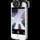 Olloclip 4in1 lens, silver/black - iPhone SE/5s/5