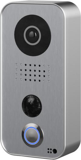 Fibaro dveřní stanice DoorBird na povrch, polykarbonát, stříbrná
