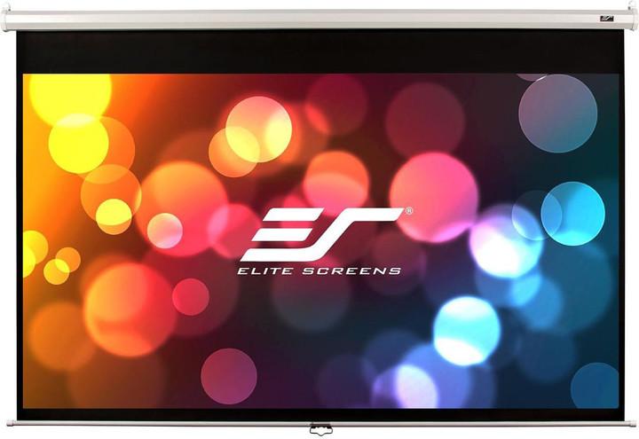"""Elite Screens plátno roleta 135"""" (342,9 cm)/ 4:3/ 205,7 x 274,3 cm/ case bílý"""
