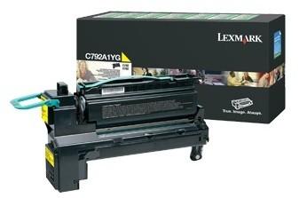 Lexmark C792A1YG, žlutá