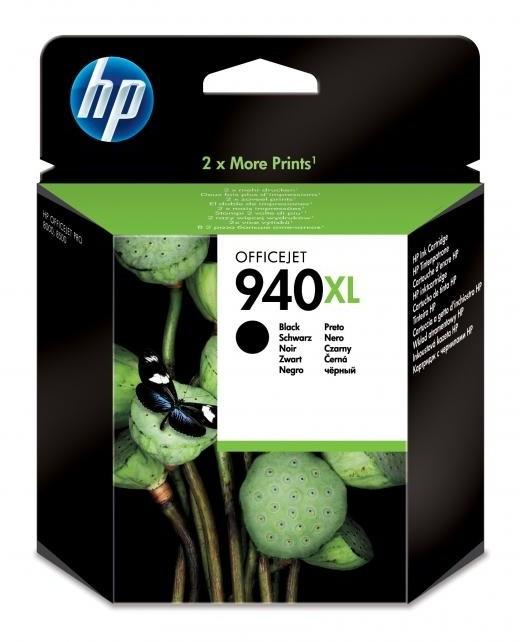 HP C4906AE, č. 940XL, černá – ušetřete až 50 % oproti standardní náplni