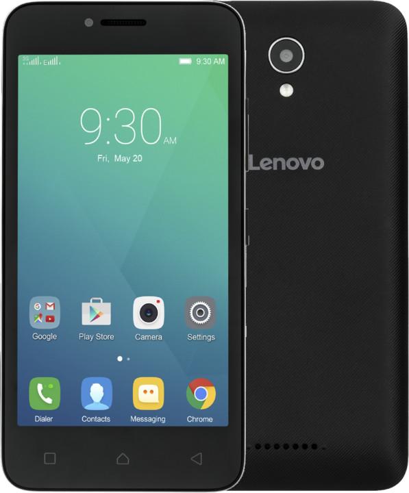 Lenovo A Plus - 8GB, Dual Sim, černá