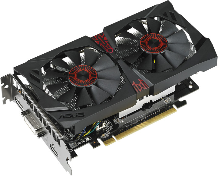 ASUS STRIX GTX750TI-OC-2GD5, 2GB GDDR5