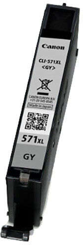 Canon CLI-571XL GY, šedá