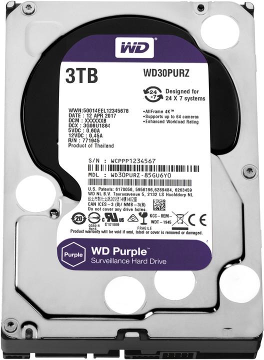 WD Purple (PURZ) - 3TB
