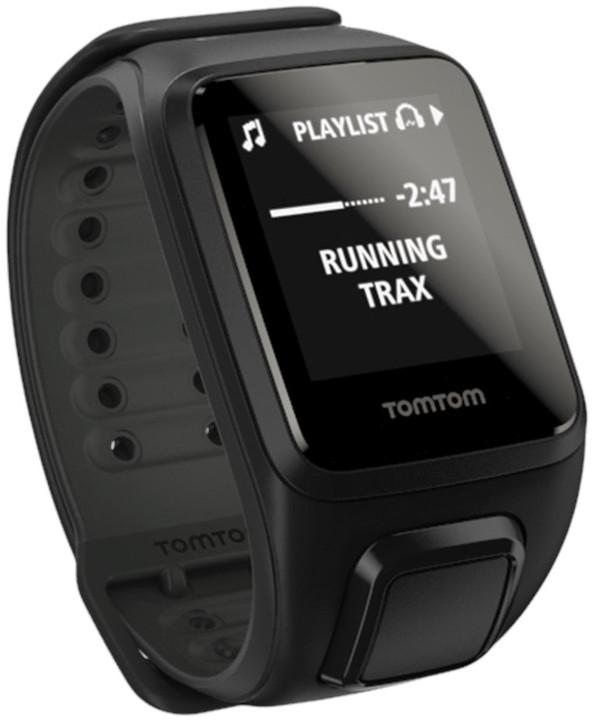 TOMTOM Spark Fitness Cardio + Music (L), černá