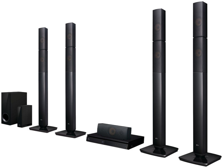 LG LHB655NW, 3D, 5.1