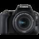 Canon EOS 200D + 18-55mm IS STM, černá  + 1400Kč zpět od Canonu + 100GB úložného prostoru v irista