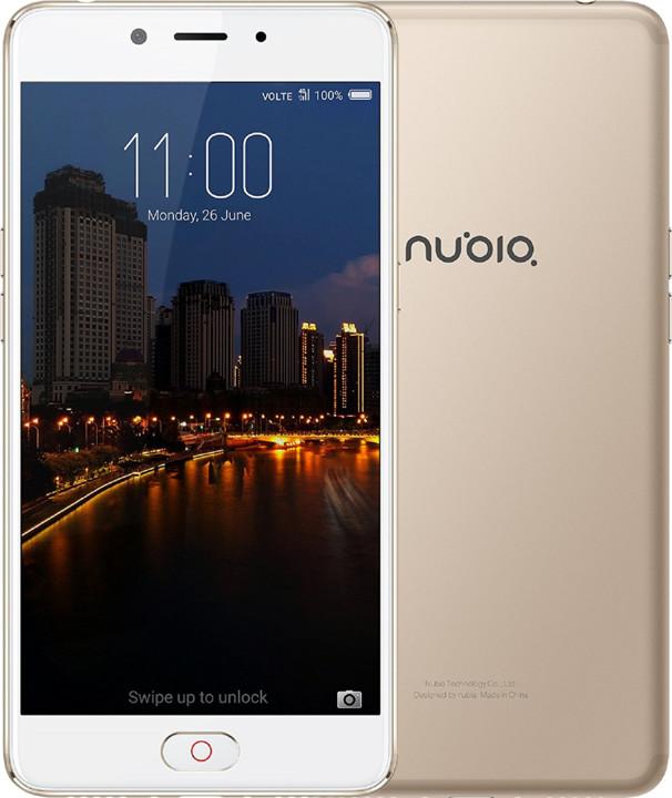 Nubia N2 - 64GB, zlatá