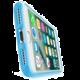 CellularLine Color průhledný zadní kryt pro Apple iPhone 7, modrá