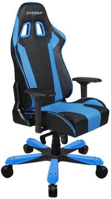 DXRacer King OH/KS06/NB, černá/modrá