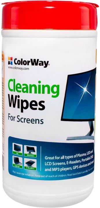 COLORWAY čistící ubrousky pro LCD monitory/ Televize/ Notebooky