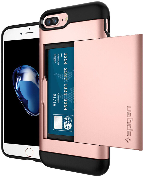 Spigen Slim Armor CS pro iPhone 7+, rose gold