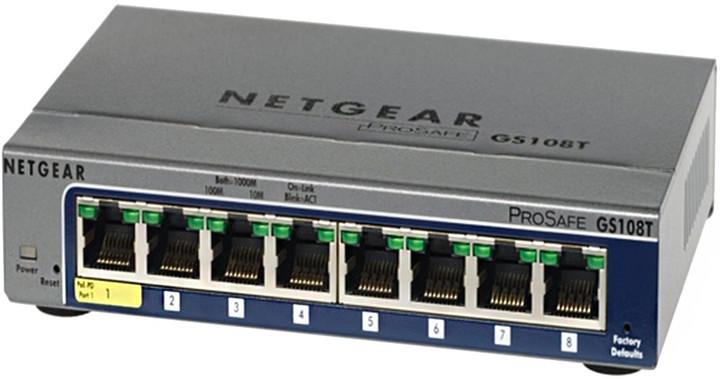 NETGEAR GS108T ProSafe