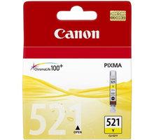 Canon CLI-521 Y, žlutá - 2936B001