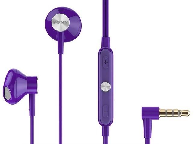 Sony STH30 Stereo Headset, fialová