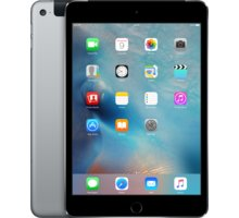 APPLE iPad Mini 4, 32GB, Wi-Fi, 3G, šedá - MNWE2FD/A