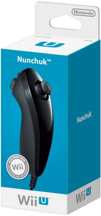 Nintendo Nunchuk, černá (WiiU)