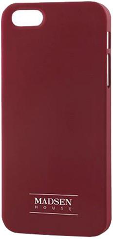 Madsen zadní kryt pro Apple iPhone 5/5s, červená