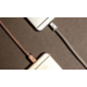 PlusUs LifeStar Designer USB Charge & Sync cable Lightning - Rose Gold