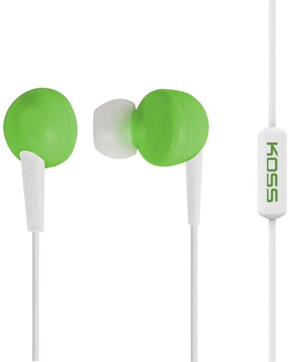 KOSS KEB/6i, zelená