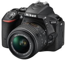 Nikon D5500 + 18-55 VR AF-P, černá - VBA440K006