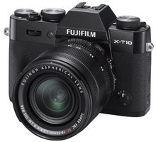 Fujifilm X-T10 + XF 18-55mm, černá - 16470881