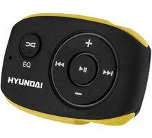 Hyundai MP 312, 4GB, černá/žlutá - HYUMP312GB4BY