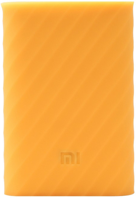 Xiaomi silikonové pouzdro pro Xiaomi Power Bank 10000 mAh, žlutá