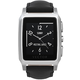 Vector SmartWatch Meridian-Brushed Steel/Black Padded Leather/Sml Fit