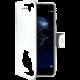 CELLY Wally Pouzdro typu kniha pro Huawei P10 Lite, PU kůže, bílé