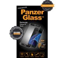 PanzerGlass ochranné sklo na displej pro Samsung S7 Premium, černá - 1054
