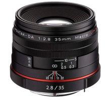 Pentax objektiv DA 35mm F2.8 Macro, černá - 21450