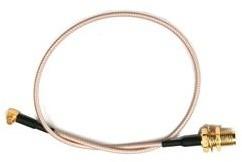 Pigtail RG316 MMCX - RSMA female 25 cm