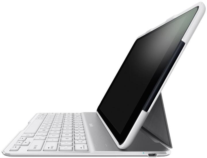 Belkin pouzdro Ultimate s klávesnicí iPad Air, bílá