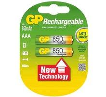GP AAA Ni-MH 850mAh, 2ks - 1032112060