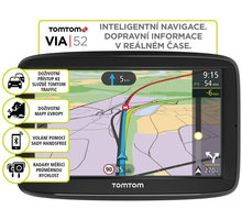 TOMTOM VIA 52 Europe (45 zemí) LIFETIME mapy - 1AP5.002.00