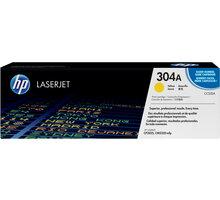 HP CC532A, žlutý