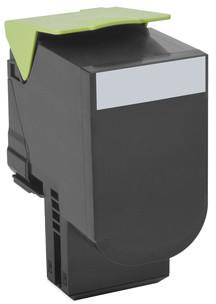 Lexmark 80C0S10, černá