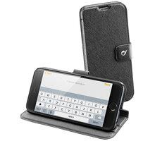 """CellularLine pouzdro Vision Slim pro Apple iPhone 6, 4,7"""", PU kůže, černá - VISIONSLIMIPH647K"""