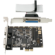 AXAGON PCEA-SP PCIe 2x serial+1x paralel