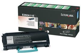 Lexmark E260A11E - černá