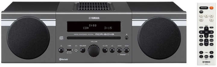 Yamaha MCR-B043, tmavě šedá