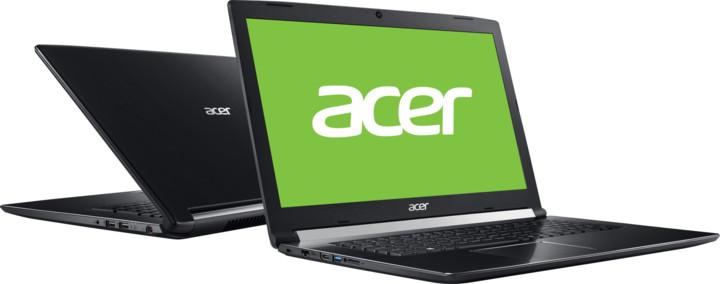 Acer Aspire 7 kovový (A717-71G-56W7), černá