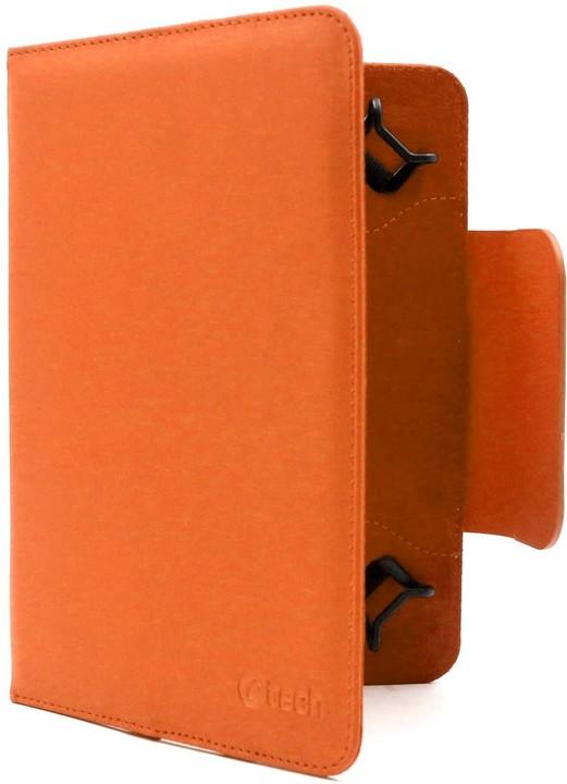 """C-TECH PROTECT univerzální pouzdro pro 7"""", NUTC-01, oranžová"""
